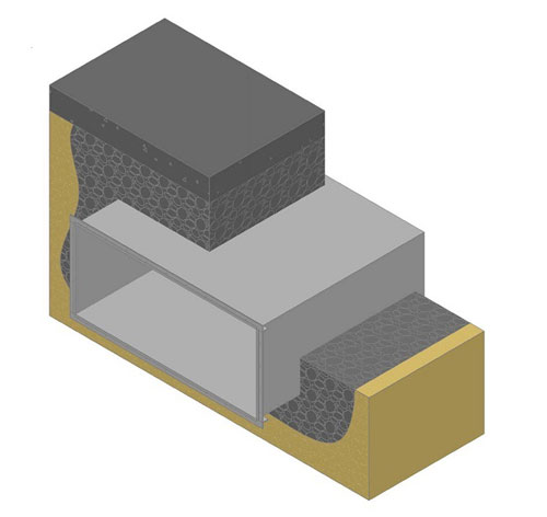 Underground Corrosion Resistant Duct